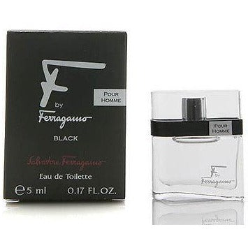 F by Ferragamo (Black) by Salvatore Ferragamo .17 oz Mini for MEN