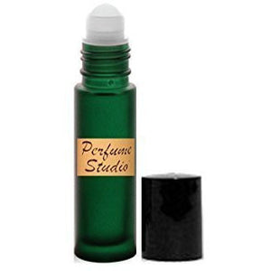 Premium Perfume Oil - Impression of Polo Black Cologne for Men 10 ml Green Roller Bottle