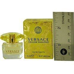 Versace Yellow Diamond by Versace 0.17 oz Mini EDT For Women