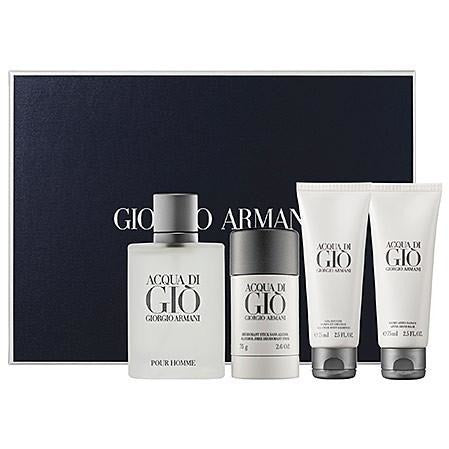 Giorgio Armani Acqua Di Gi 4 Pc Gift Set for Men