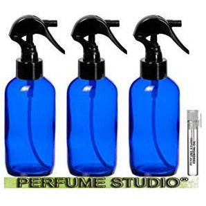 TRIGGER Spray Bottles 4 oz and a Perfume Studio? Top Seller Body Oil Sample V...