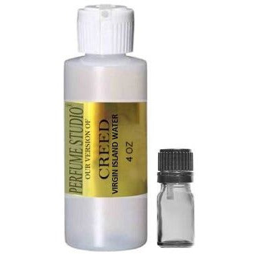 Premium Parfum Oil Blend Similar to Virgin Island Perfume* 100% Pure Perfume Oil; 4OZ HDPE Bottle with 5ml Euro Dropper
