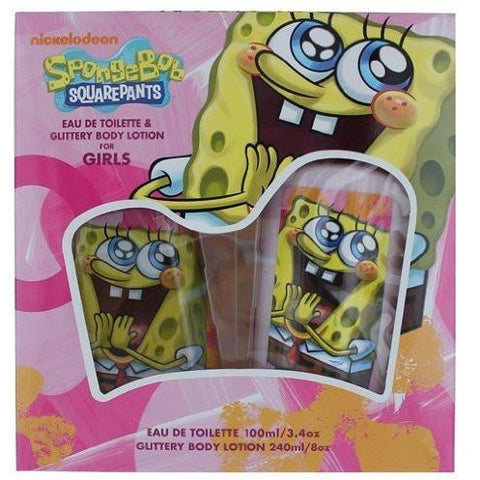 Nick Jr awgspnb2 Sponge Bob Gift Set For Girls, 2 Piece