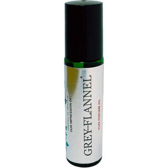 Grey Flannel Perfume Oil IMPRESSION by Perfume Studio Oils, 10ML Rollon Body Oil with SIMILAR fragrance accords.
