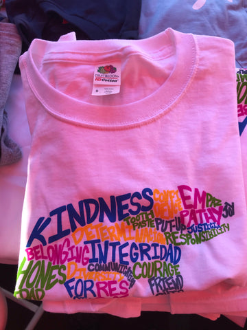 Kids word cloud t-shirt