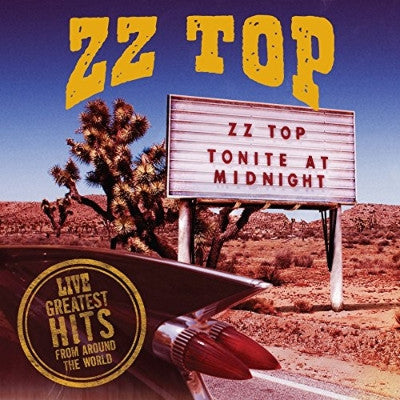 ZZ Top Live Greatest Hits From Around the World 2LP