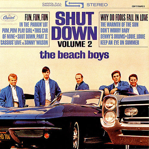 The Beach Boys - Shut Down Volume 2 on Limited Edition 200g Vinyl LP - direct audio