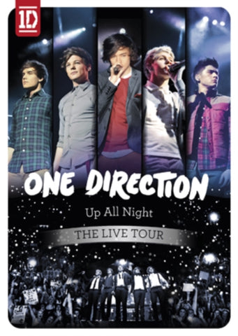 One Direction - Up All Night: The Live Tour Import Blu-Ray DVD - direct audio