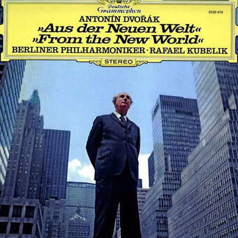 Dvorak - From The New World - Kubelik - Berlin Philharmonic on 180g Import LP - direct audio