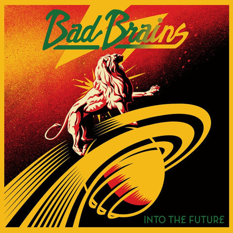 Bad Brains - Into The Future on LP - direct audio
