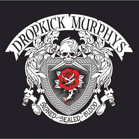 Dropkick Murphys - Signed And Sealed In Blood on Limited Edition 180g 2LP + Download Card (Awaiting Repress) - direct audio