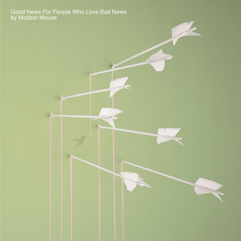Modest Mouse - Good News For People Who Love Bad News on 2LP - direct audio