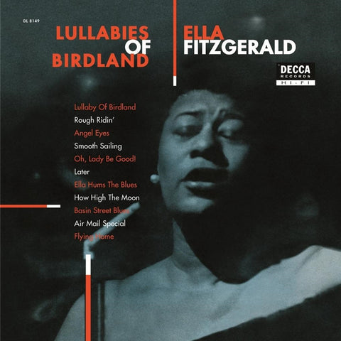 Ella Fitzgerald - Lullabies Of Birdland on Limited Edition 180g Import LP - direct audio