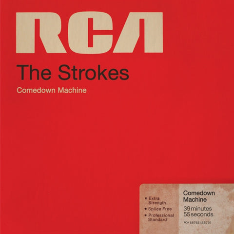 The Strokes - Comedown Machine on 180g LP + Download Code - direct audio