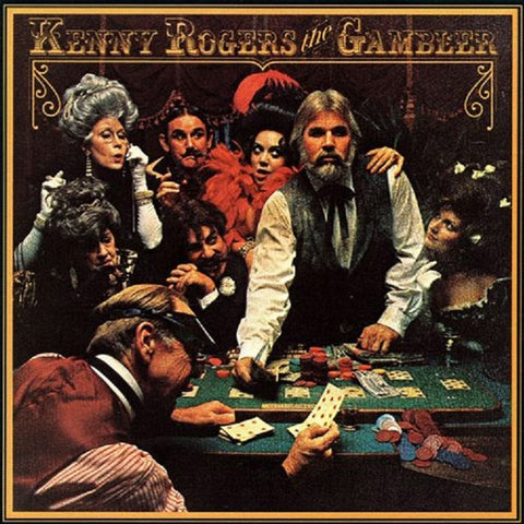 Kenny Rogers - The Gambler on 180g LP - direct audio