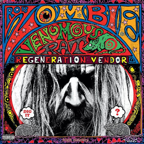 Rob Zombie - Venomous Rat Regeneration Vendor on 180g LP - direct audio