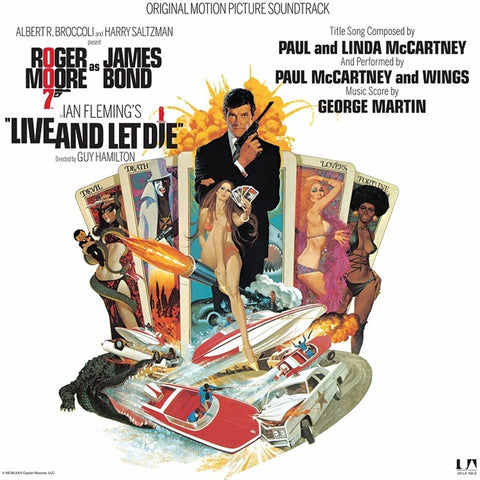 James Bond - Live And Let Die: Original Motion Picture Soundtrack on Limited Edition 180g LP - direct audio