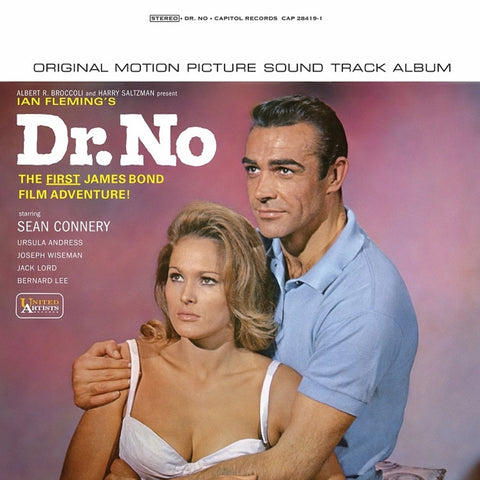 James Bond - Dr. No: Original Motion Picture Soundtrack on Limited Edition 180g LP - direct audio