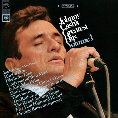 Johnny Cash - Johnny's Cash's Greatest Hits Volume 1 on Limited Edition 180g LP - direct audio