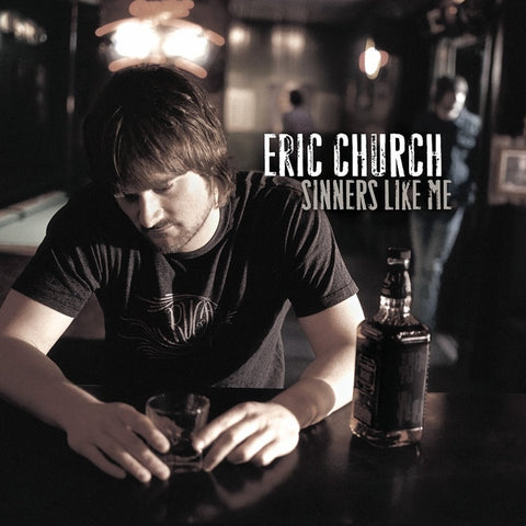 Eric Church - Sinners Like Me on LP (Awaiting Repress) - direct audio
