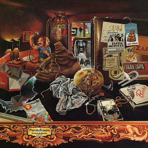 Frank Zappa - Over-Nite Sensation on 180g LP - direct audio