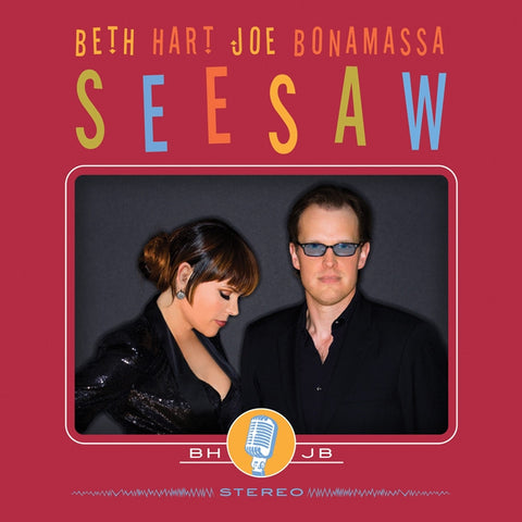 Beth Hart And Joe Bonamassa - Seesaw on Import LP - direct audio