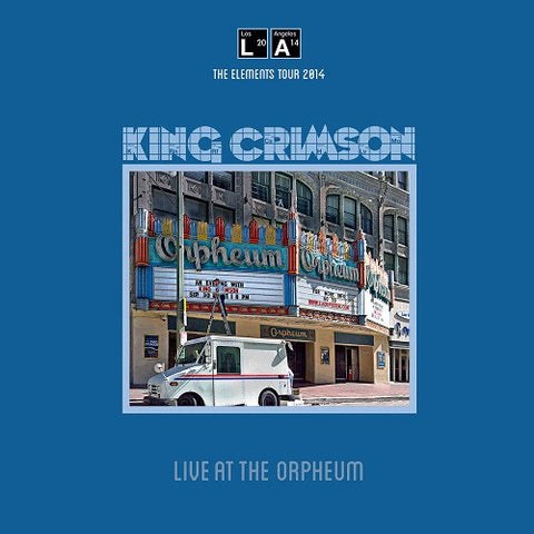 King Crimson - Live At The Orpheum on 200g Import LP
