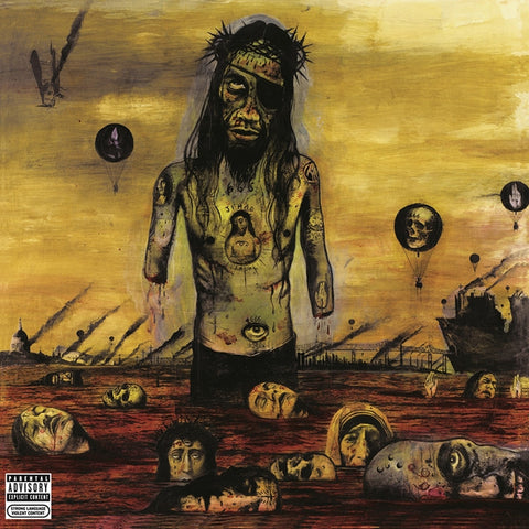 Slayer - Christ Illusion on 180g LP - direct audio
