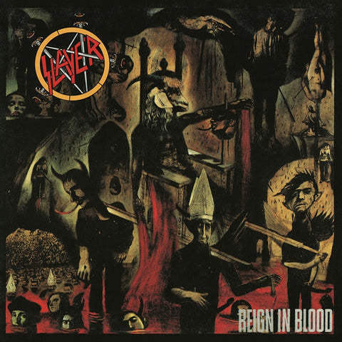 Slayer - Reign In Blood on 180g LP - direct audio