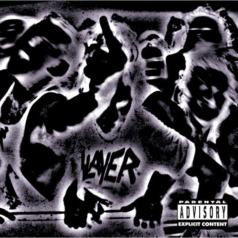 Slayer - Undisputed Attitude on 180g LP - direct audio