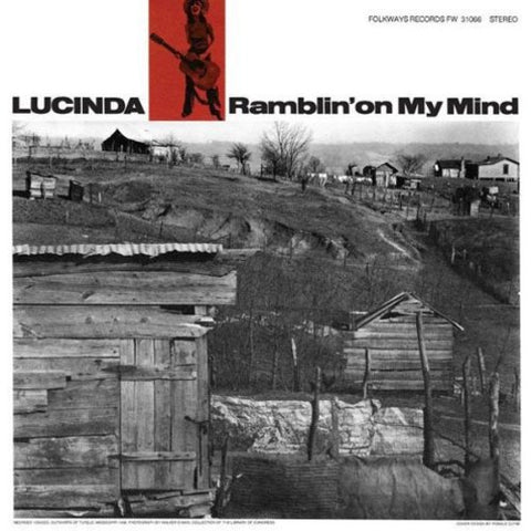 Lucinda Williams - Ramblin' On My Mind Vinyl LP - direct audio
