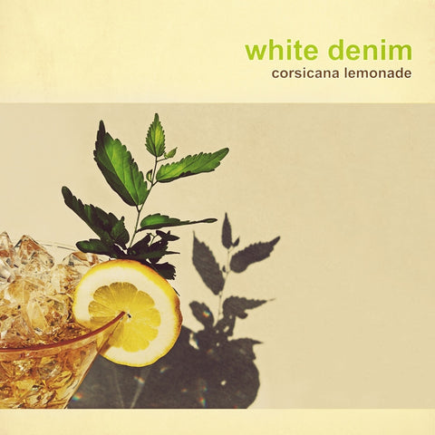 White Denim - Corsicana Lemonade Limited Edition Yellow Colored Vinyl LP (Awaiting Repress) - direct audio