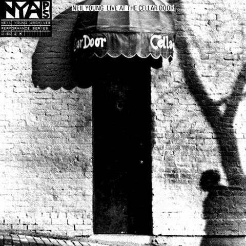 Neil Young - Live at the Cellar Door on 180g Vinyl LP - direct audio