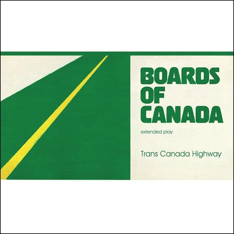 Boards Of Canada - Trans Canada Highway on LP + Sticker + Download Card - direct audio