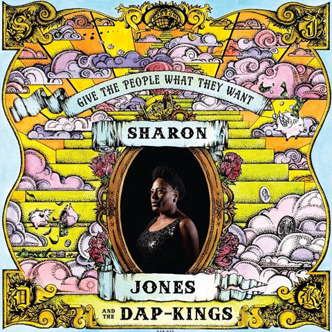 Sharon Jones & The Dap-Kings - Give The People What They Want on LP + Download - direct audio