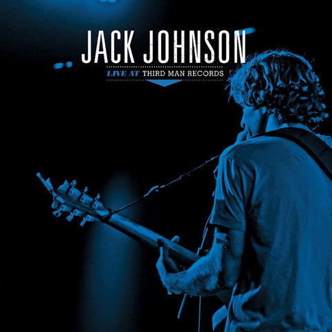"Jack Johnson - Live At Third Man Records on 12"" Vinyl - direct audio"