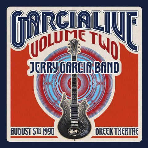 GarciaLive Vol. 2: Jerry Garcia Band - August 5Th 1990 Greek Theater 2CD