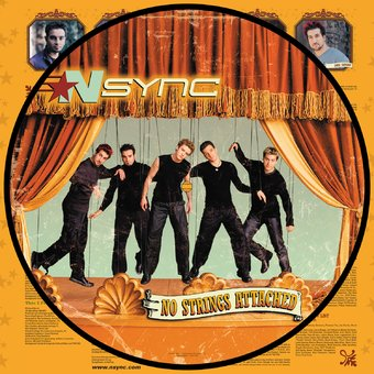 NSYNC - No Strings Attached Picture Disc Vinyl LP - direct audio