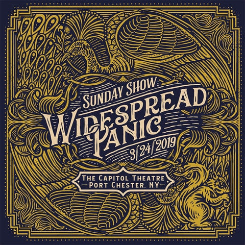 Widespread Panic Sunday Show: 3/24/19 The Capitol Theatre, Port Chester, NY Vinyl 5LP Box Set