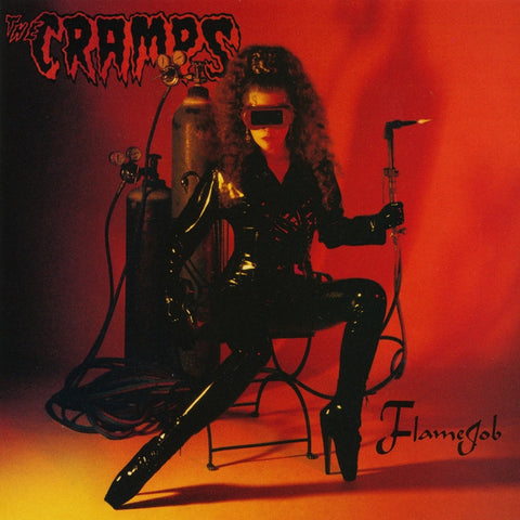 The Cramps - Flamejob Numbered Colored Vinyl LP (Out Of Stock) - direct audio