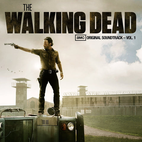 The Walking Dead: Original Soundtrack Volume 1 - Various Artists on Limited Edition Colored LP + Poster - direct audio