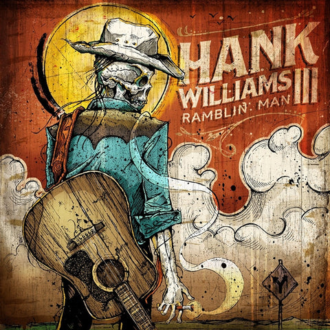 Hank Williams III - Ramblin' Man on 180g LP + CD - direct audio