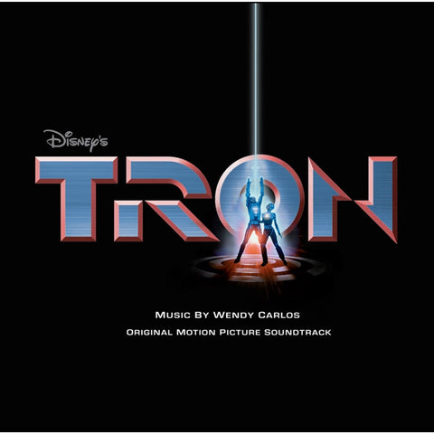 Tron: Original Motion Picture Soundtrack - Music By Wendy Carlos on Numbered Limited Edition Colored 180g 2LP - direct audio