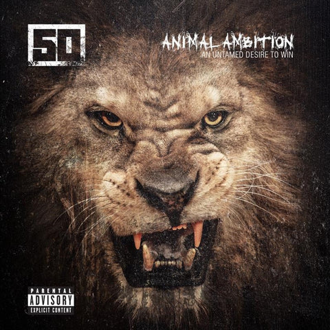 50 Cent - Animal Ambition: An Untamed Desire To Win on 2LP + Download - direct audio
