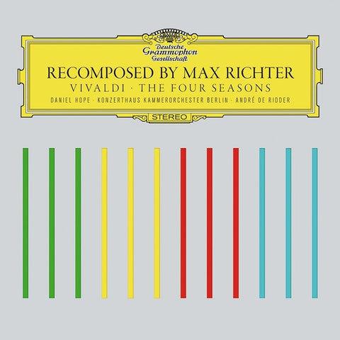 Vivaldi - The Four Seasons: Recomposed By Max Richter - Ridder - Hope - Konzerthaus Chamber Orchestra 180g Vinyl 2LP + Download - direct audio