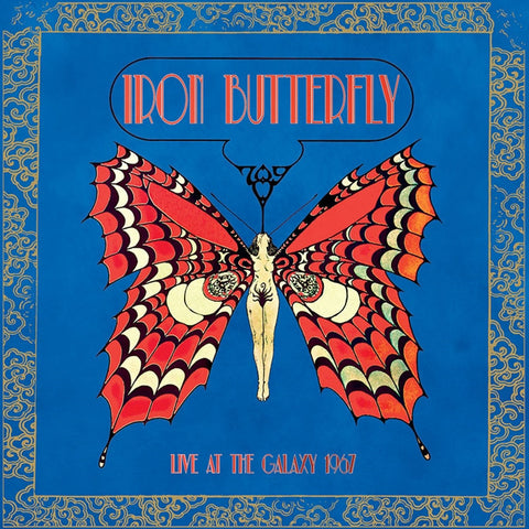 Iron Butterfly - Live At The Galaxy 1967 on Limited Edition Colored 180g LP - direct audio