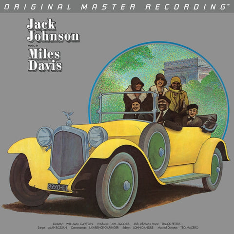 Miles Davis - A Tribute to Jack Johnson on Numbered Limited Edition 180g LP from Mobile Fidelity - direct audio