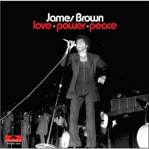 James Brown - Love Power Peace on 3LP - direct audio
