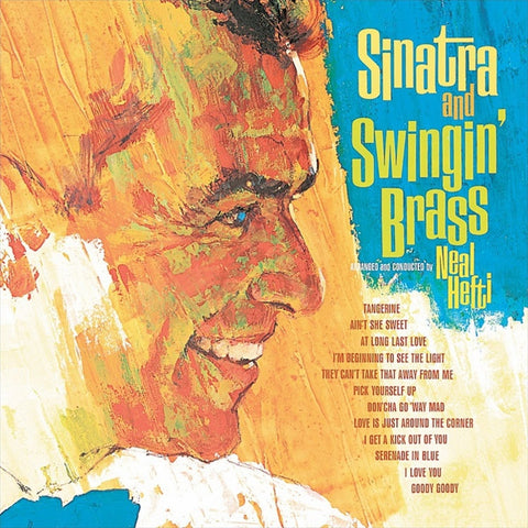 Frank Sinatra - Sinatra And Swingin' Brass on LP - direct audio