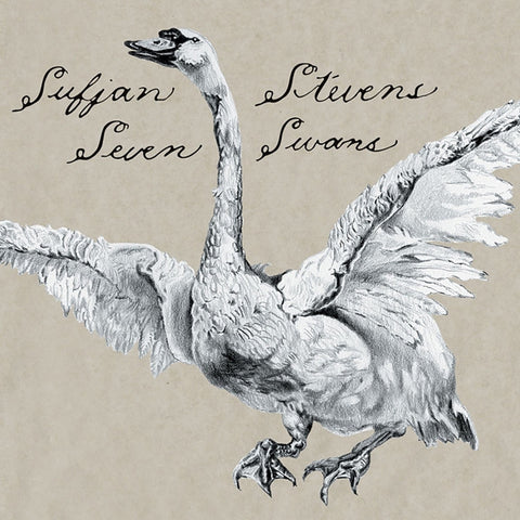 "Sufjan Stevens - Seven Swans Vinyl LP + 7"" - direct audio"